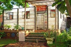 A family from Argentina is perfectly content living in a house made from plastic bottles