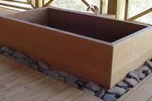 Resultado de imagen de how to make a japanese wood bathtub
