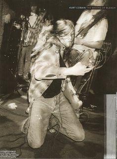 Nirvana, Seattle 1989
