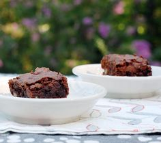 Very Fudgy Chocolate Chip Brownies by Fran Costigan
