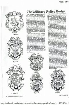 Military Police Insignia | The army, Military and The o'jays