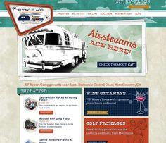 Flying Flags RV Resort & Campground - RV Parks Web Development Blog Content Management System Events Management Image Gallery Newsletter Subscription Responsive Design Social Media Integration