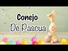 Cómo hacer un Conejo de Pascua | Pasta Flexible - YouTube