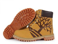 Timberland 6 Inch Tree Printing Boots Wheat Black For Men,classic yellow timberland boots,buy wheat timberland boots,new timberland boots 2017