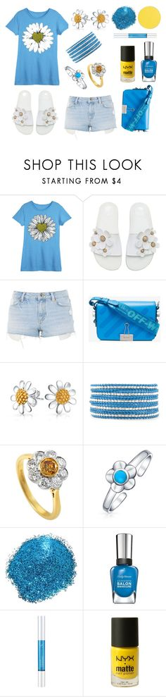 Untitled #1017 by siriusfun on Polyvore featuring LC Trendz, Topshop, Marc Jacobs, Off-White, Chan Luu, Bling Jewelry, ittse, Osmotics Cosmeceuticals, NYX and Sally Hansen