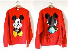 Vintage Walt Disney Mickey Mouse Sweatshirt