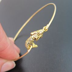 Gold Mermaid Bracelet Gold Mermaid Jewelry by FrostedWillow, $17.95