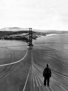 (Source : cuttermacleod, via schrumpfgermane)  >clearly taken while they were building SF's Golden Gate Bridge