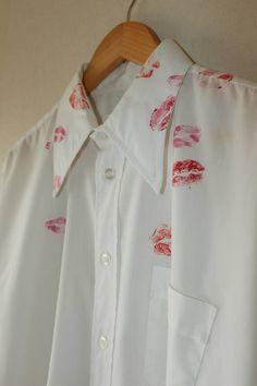 Maison Margiela Margiela Artisanal Kiss shirt Size US L / EU 52-54 / 3