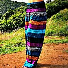 Hippie bohemian harem pants fashion style summer vibes