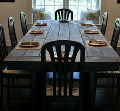 Let http://www.customhomesbyjscull.com/ help you find the farmhouse table of your dreams!
