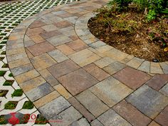 Belgard Catalina Slate paving stones feature clean lines and a design sensibility that will serve to tactfully enhance the outdoor elements of your home's front entrance, walkway, or patio.