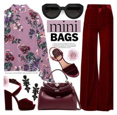 """Mini Bags"" by chocolate-addicted-angel ❤ liked on Polyvore featuring Erdem, Racil, Laurence Dacade, Fendi, Accessorize, Carla Zampatti, Yves Saint Laurent, Fall, minibags and 2017"