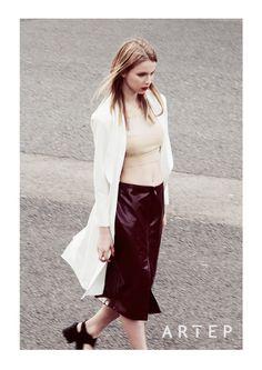 #Artep Leather Skirt, Designers, Skirts, Fashion, Moda, Leather Skirts, Fashion Styles, Skirt