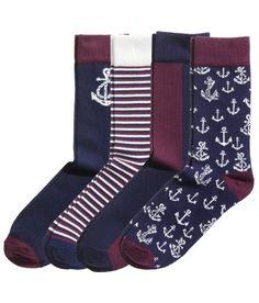 H&M navy maroon nautical groomsmen
