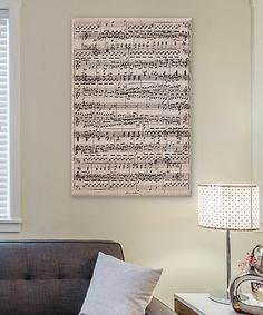 Another great find on #zulily! 5by5collective Ode to Joy Wrapped Canvas #zulilyfinds