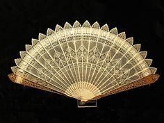Vintage Ivory fan.