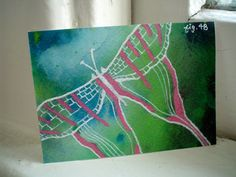 ACEO Painting ACEO Art ACEO Original aceo drawing by TamaraGarvey