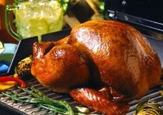 Learn how to rotisserie roast a perfectly golden whole turkey or boneless roast with help from Butterball®. Bbq Turkey, Whole Turkey, Grilled Turkey, Roasted Turkey, Turkey Time, Smoked Turkey, Butterball Turkey, Mango Salsa, Thanksgiving Menu