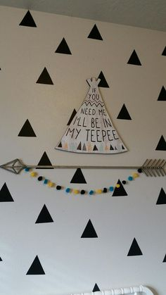 Bless Your Mess by Kess: Tribal Teepee Nursery Tour ♡