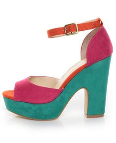 Colorful Heels 4 Summer=ADORABLE!
