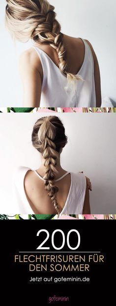 Von romantisch bis rockig: Tolle Flechtfrisuren für lange Haare