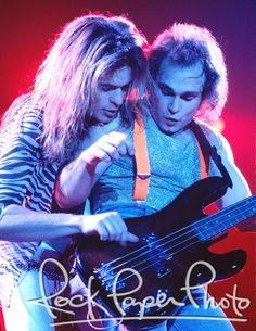 Van Halen by Dean Simmon