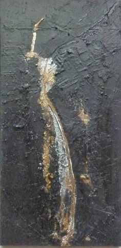 Tableau / Peinture d'art abstrait Titre : Faille 6 Artiste : Nelly Rozo http://www.nellyrozo.com