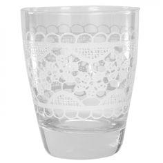Üdítős pohár csipkés mintával 3 dl - DENISE