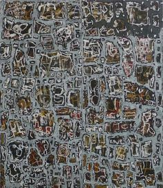 To Moment TodayRoy Jackson2010, acrylic and oil stick on board,   214 x 183cm