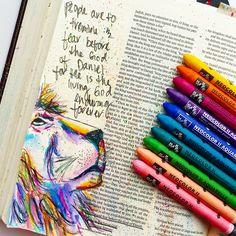 Bible Journaling Art Journal Neocolor II