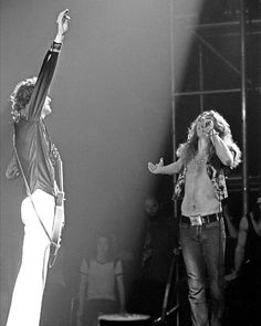 Jimmy Page & Robert Plant NO other band had it : Heaven among them! And .as Jimmy said , THEY were the houses of the Holly spirit...when he was asked about the title of the album....
