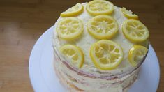 A gluten free lemon and elderflower cake fit for a royal wedding