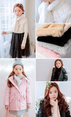 Girl's Winter Fashion [BUBBLETREE] 11Street #childrenwear #seasonal #koreanstyle