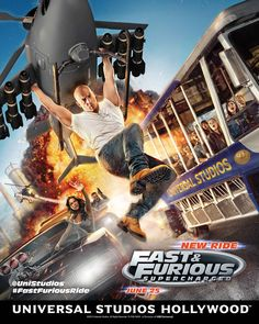 On June 24, Universal Studios Hollywood launched the most exciting new finale to their Studio Tour — Fast & Furious: Supercharged. This high-speed, 3-D adrenaline rush utilizes expansive 360-degree screens and special effects to simulate a high-speed chase of 120 miles per hour. Whether or not you are a fan...