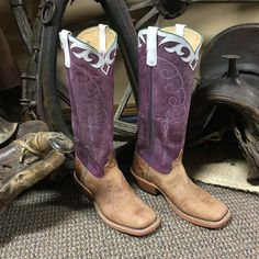 "Anderson Bean Sinsation Sangrid 16"" Handmade Boot"
