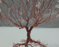 Twisted Wire Tree Sculpture Tree of Life by KristinRebecca on Etsy