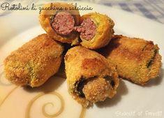 rotolini di zucchine e salsiccia al forno ricetta gustosa