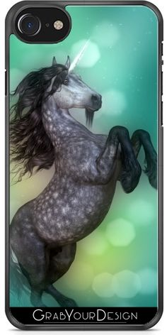 GrabYourDesign - Case for Iphone 7/7S Unicorn Fighter2 - by Illu-Pic.-A.T.Art