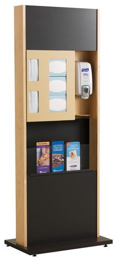 ICF-2M: healthFIRST® Freestanding Infection Prevention Center | Peter Pepper Products | Expressive Essentials®