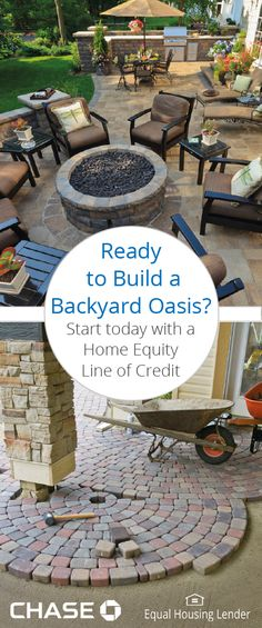 Looking to give your backyard a boost?  Whether you're hiring a licensed contractor or challenging yourself with a DIY, learn from our expert tips and find out how to finance your project.