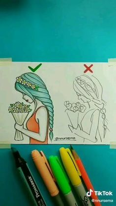 walterbarrettenjoy - 0 results for flower drawing Girl Drawing Sketches, Cute Easy Drawings, Girly Drawings, Dark Art Drawings, Art Drawings For Kids, Art Drawings Sketches Simple, Pencil Art Drawings, Doodle Art, Art Tutorials