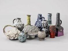 Fat Lava Vases