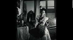 A portrait of Frida Kahlo. She died in 1954 at the age of 47. Kahlo is the subject of a new book containing never-before-seen pictures of her private life. 'Frida Kahlo: The Gisele Freund Photographs' is published by Abrams and offers an intimate glimpse inside the world of the late artist.