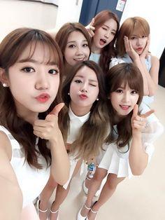 APink Bomi, Naeun, Eunji, Namjoo, Chorong, Hayoung..... <3 <3 <3