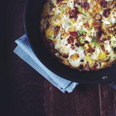 breakfast frittata Breakfast Frittata, Quiche, Wooden Spoons, Hawaiian Pizza, Canning, Friends, Recipes, Food, Amigos