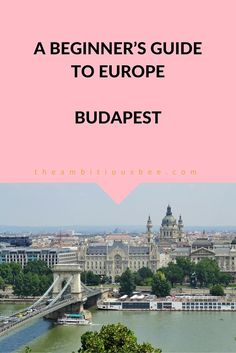 #Budapest is one of the most amazing cities in Europe. Click through to find out what to do in this breathtaking city. #travel