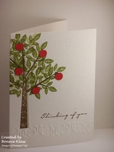 Stamping with Klass: Whacked Embossing Folder