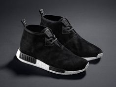"The adidas NMD Chukka ""Black Suede"" Launches Next Week. The shoe gets a March 17 release date"