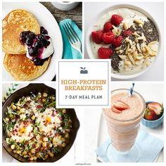 7-Day Meal Plan: Satisfying High-Protein Breakfasts - EatingWell